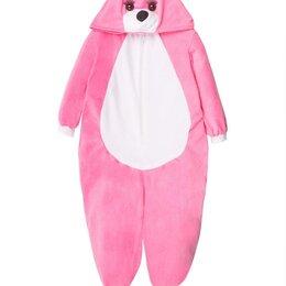"Кигуруми - Пижама Кигуруми ""Лиса 1"" розовый, размер с 3 до 7 лет арт.ING19 (7 лет), 0"