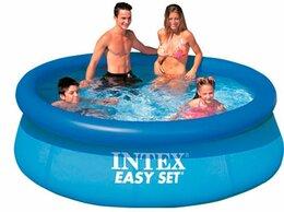 Бассейны - Бассейн easy set Intex (с надувным кольцом), 0