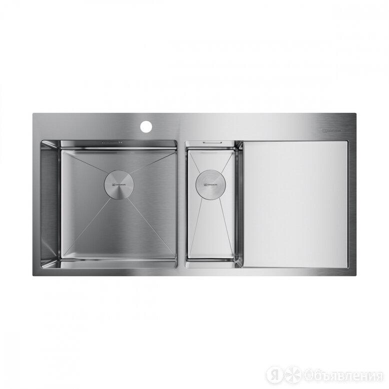 Кухонная мойка omoikiri Akisame 100-2-IN-L по цене 48288₽ - Кухонные мойки, фото 0