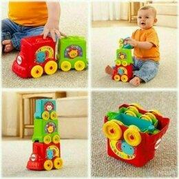 """Развивающие игрушки - Игрушка """"Веселый паровозик 3 в1"""" Fisher-Price, 0"""