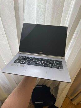 Ноутбуки - Белый ультрабук сенсорный ACER S3, 0