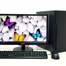 Настольные компьютеры - Офисный пк Intel G4400 + DDR4 8Gb + Монитор , 0