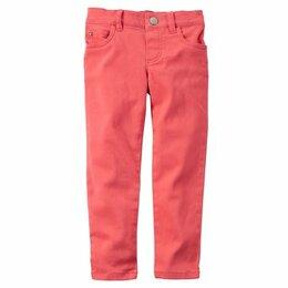 Джинсы - Новые джинсы carters р. 24 м коралловые, 0