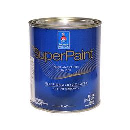 Краски - Sherwin Williams Super Paint Interior Latex Flat…, 0