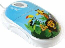 Мыши - Мышь Smart Buy SBM-320-AZ African Zoo, USB, blue…, 0