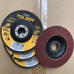 Для шлифовальных машин - Круг шлифовальный лепестковый 125х22.2 мм; P80, 0
