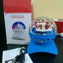 Новогодний декор и аксессуары - Диско Шар Magic Ball Light (Bluetooth) L-740 на аккумуляторе, 0