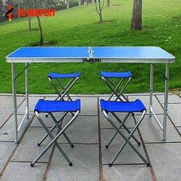 Походная мебель - Стол складной со стульями, 0