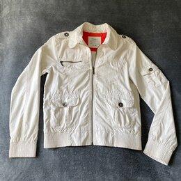 Куртки - Белая женская ветровка COLIN'S размер М (44-46), 0