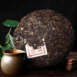 Ингредиенты для приготовления напитков - Настоящий зелёный китайский чай пуэр 357 грамм, 0