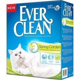 Наполнители для туалетов - Ever Clean Spring Garden комкующ наполнитель c нежным ароматом весеннего сада..., 0