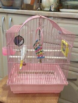 Клетки и домики - Клетка для попугая / канарейки (29 х 22 х 38), 0
