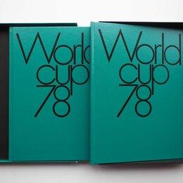 Спорт, йога, фитнес, танцы - Фотоальбом Кубок мира по футболу 1978 2 тома, 0