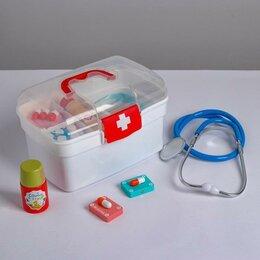Наборы для исследований - Детский игровой набор «Медик» 20.5×12.5×13,5 см, 0