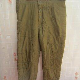 Одежда - Брюки ватные размер 50 рост 3, 0