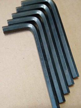 Рожковые, накидные, комбинированные ключи - Ключ шестигранный Шестигранник 6мм 90х35мм черный, 0