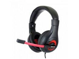 Компьютерные гарнитуры - Гарнитура игровая Gembird MHS-G30 черный красный, 0
