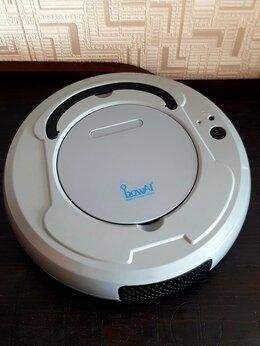 Роботы-пылесосы - Робот пылесос серый, 0