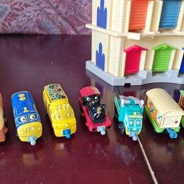 Детские железные дороги и автотреки - Весёлые паровозики из чаггингтона, 0