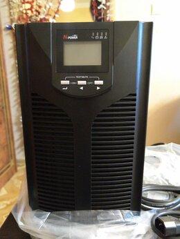 Источники бесперебойного питания, сетевые фильтры - ИБП N-Power Pro-Vision black M2000 online.  Новый, 0