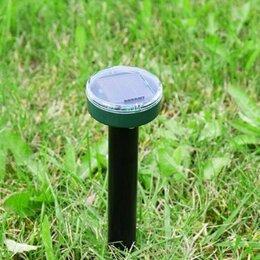 Отпугиватели и ловушки для птиц и грызунов - Отпугиватель кротов на солнечной батарее, 0