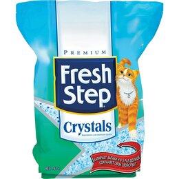 Наполнители для туалетов - Fresh Step Crystals наполнитель силикагель  д/кошек, 0
