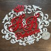 Свадебный семейный герб монограмма вензель по цене 1650₽ - Свадебные украшения, фото 6