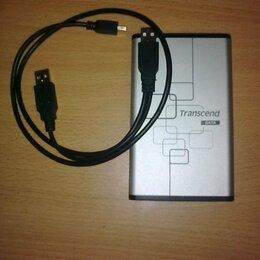 Внешние жесткие диски и SSD - Внешний HDD накопитель Transcend 500 Gb, 0