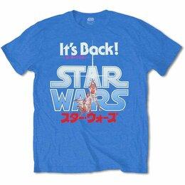 Футболки и майки - Футболка Star Wars - It's Back! Japanese (XL) США, 0