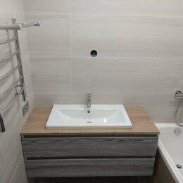Раковины, пьедесталы - Тумба с раковиной для ванной комнаты мдф по вашим размерам, 0