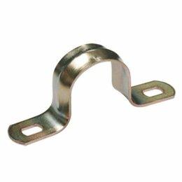 Кабеленесущие системы - Скоба У.ПАК d48-50mm  металлическая двухлапковая, 0