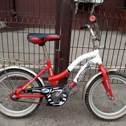 Велосипеды - Велосипед детский Зебра. Колеса на 16 дюймов, 0