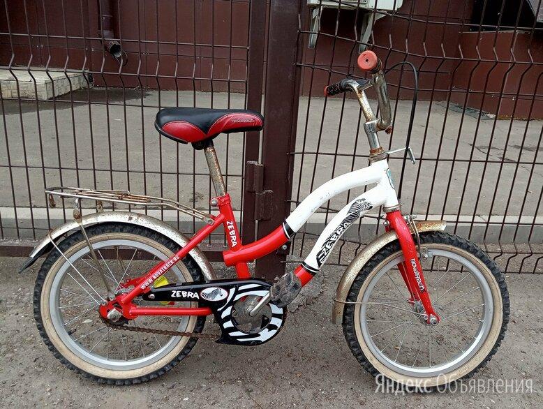 Велосипед детский Зебра. Колеса на 16 дюймов по цене 2000₽ - Велосипеды, фото 0