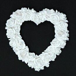 Фоторамки - Фоторамка Сердце из роз, 0