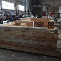 Готовые строения - Брус профилированный для бани 3*6 м., 0