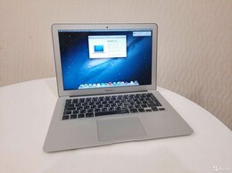 Ноутбуки - Apple MacBook Air 13, A1466, i5 2012 новая батарея, 0