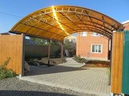 Готовые строения - Навесы из поликарбоната , 0