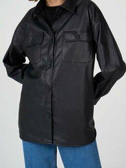 Куртки - Куртка-рубашка из эко-кожи Befree новая, 0