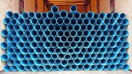 Водопроводные трубы и фитинги - Обсадная труба нПВХ D125мм, 0