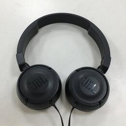 Компьютерная акустика - Наушники JBL чёрные проводные, 0