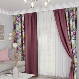 Шторы - Новые шторы в спальню 3*2,7м-цена за 2 полотна (5 фото), 0