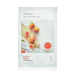 Маски - Трехслойная лечебно-косметическая маска для лица INNISFREE My Real Squeeze M..., 0