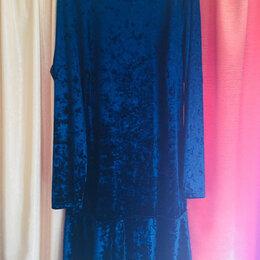 Платья - Платье бархатное, 0