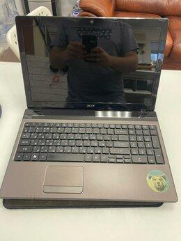 Ноутбуки - CORE i7 2630qm 3.0ghz + GeForce 540m, Acer 5750, 0
