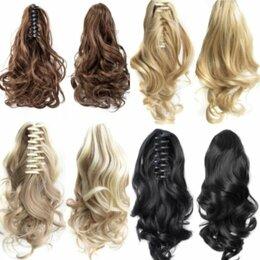 Аксессуары для волос - Шиньон, хвост на заколке, 0