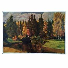 """Картины, постеры, гобелены, панно - Картина """"Осень в Абрамцеве"""", 0"""