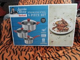Наборы посуды для готовки - Набор посуды Tefal Jamie Oliver, 0