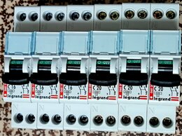 Электрические щиты и комплектующие - Автоматы C DX Legrand (1P+N) 16-20A, 6кА, новые., 0