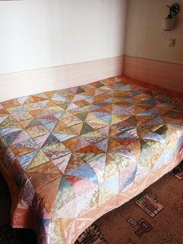 Пледы и покрывала - Покрывало Треугольники из Турецких портьерных…, 0