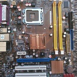 Материнские платы - Asus P5KPL-AM Сокет 775 DDR2, 0
